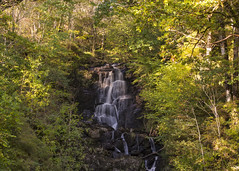 Little Fawn Waterfall _ Aberfoyle (Margaret S.S) Tags: little fawn waterfall aberfoyle long exposure