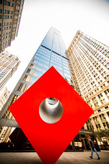 That Hole in His Heart (Thomas Hawk) Tags: brownbrothersharriman isamunoguchi manhattan nyc newyork newyorkcity thecube usa unitedstates unitedstatesofamerica architecture sculpture fav10