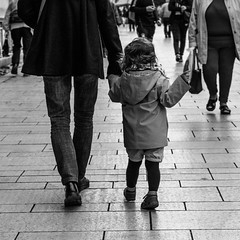 PA180135 (romainln) Tags: girl child daughter small street streetphotography people blackwhite blackandwhite olympus 45mm