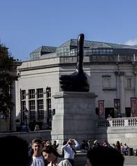 Really Good by David Shrigley, Trafalgar Square, London (IFM Photographic) Tags: img2763a canon 600d ef2470mmf28lusm ef 2470mm f28l usm lseries london westminster cityofwestminster city fourthplinth davidshrigley trafalgarsquare art