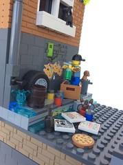 MOC 16X16 CONTEST LAVAU CONVENTION 2016 (PUISSANCE BRICK) Tags: lego puissancebrick moc bricks minifigurine afol 16x16 city building creation contest tag graffiti tattoo badboy police
