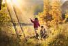 yellow October (iwona_podlasinska) Tags: autumn yellow kids brothers iwona podlasinska fall colors