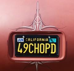 1949 Plymouth Cranbrook (bballchico) Tags: 1949 plymouth cranbrook 49chopd davidwauters billetproof billetproofantioch carshow 40s chopped mildcustom pinstripe licenseplate