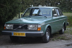 1979 Volvo 244GL DG-32-YF (Stollie1) Tags: 1979 volvo 244gl dg32yf rhenen