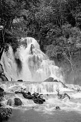 Waterfall (pacco_racco) Tags: waterfall middlemekong northernlaos leicam6 leicasummicron35mmf20asph kodaktrix400