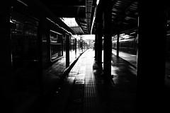 Osaka (y uzen ) Tags: bw blackwhite japaninbw osaka monochrome station