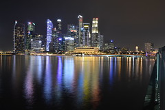 Marina Bay (Simon_sees) Tags: buildings lights cityscape city night marinabay singapore