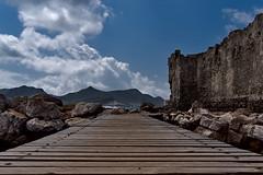 Methoni castle cinque (senza senso) Tags: greece peloponnese methoni castle darktable 20mm