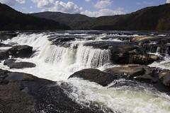 Sandstone Falls (DFChurch) Tags: waterfall sandstone falls newriver westvirginia wv rocks