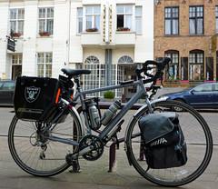 Dawes in Veurne. (radio53) Tags: dawes bicycle belgium veurne vlaanderen touring