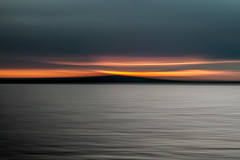 line_2987 (Valerie Guseva) Tags: sea seascape abstract water waves light lights long exposure surreal icm impression crimea russia smooth smudge hypnotic outdoor sky ocean horizon sunset clouds nature landscape seaside shore cloud line illusion warm silk blur red