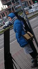 Downcoat (coatrPL) Tags: jacke jacket downjacket downcoat daunen winter coat puffy hooded mantel zimowy płaszcz płaszczyk pikowany outdoor candid