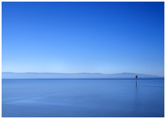 Perfect Calm (mike.read44) Tags: lake wales skyline blue azure water sea river dee hills silhouette