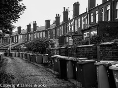 Terraced houses, Prestwich, Manchester (james a brooks) Tags: house terraced houses prestwich manchester
