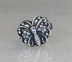 Butterfly Ring, Stat (alaridesign) Tags: butterfly ring statement sterling silver boho jewelry floral sturdy bohemian butterflyring alari floralbutterfly bohobutterflyring sterlingbutterfly sturdyring bohoring sterlingsilverring statementring butterflyjewelry