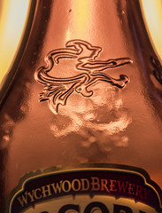 The Wych of the Wood 2 (rumimume) Tags: potd rumimume 2016 niagara ontario canada photo canon 550d t2i sigma beer bottle witch wytchwood macro