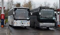 R88GSM  N44GSM  Maynes, Buckie (highlandreiver) Tags: r88gsm r88 gsm n44gsm maynes coaches buckie scotland scottish mercedes benz tourismo bus coach van hool tx