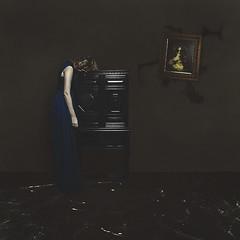 walls that break (sparkbearer) Tags: 365project chelseaknight fineartphotography surreal spooky darkart marble blue painting