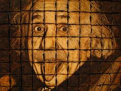 Toast Art (Yawp Barbarian) Tags: einstein toast art portrait ripleys canada science physics ontario center bread