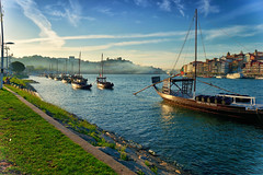 Porto (peterkleeren) Tags: porto douro river wine nikon d3300 city trip citytrip graduated filter neutral density