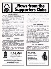 Nottingham Forest vs Coventry City - 1982 - Page 19 (The Sky Strikers) Tags: nottingham forest coventry city football league division one ground official match day programme 40p