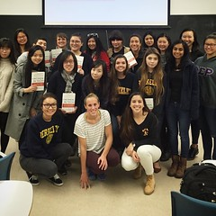 Women in tech the book has a UC Berkeley Decal class and this week the reading was MY CHAPTER of the book  thank you for having me! (thisgirlangie) Tags: women tech book has uc berkeley decal class this week reading was my chapter  thank you for having me