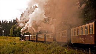 Steam locomotive to the Brocken