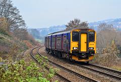 150248. (curly42) Tags: 150248 class150 1501 sprinter dmu unit fgw first railway transport bowbridge