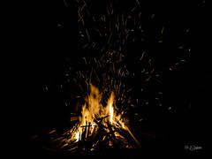 Campfire (Shahriar (Phone Clicker :P)) Tags: mobilography camping campsite meghna araihazar
