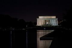 Lincoln Memorial @ Night  (1) (smata2) Tags: lincolnmemorial washingtondc dc nationscapital canon monument memorial postcard