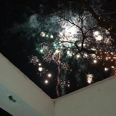 Happy New Year from Iceland (unnurol) Tags: newyearseve2017fireworksoutsidehappynewyear2017newyear2017flugeldargamlárskvöldáramót