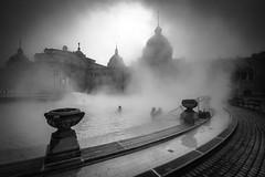 Szchenyi Dawn (DSC0476) (DJOBurton) Tags: pest spa szchenyi baths thermal hungary budapest