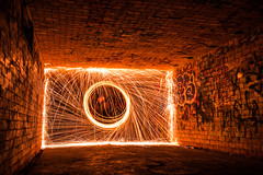 Perfection (Evan's Life Through The Lens) Tags: camera sony a7rii lens glass 2470mm f28 canon zoom wide telephoto long exposure night light bright dark sparks steel wool fire amazing beautiful vibrant color orange yellow blue green autumn cold 2016