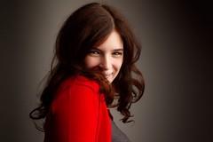 RED Smile :) (dandrasphoto) Tags: andras deak canon eos 1d mk4 mkiv portrait poertré vörös haj red head redhead scarlet nikolett lakos smile mosoly