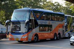 Daewoo Double Deck Coach (nighteye) Tags: daewoo doubledeck coach 156507 bangkok thailand bus