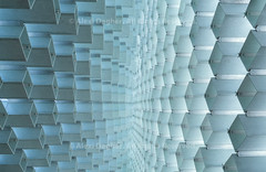 """Inside, Looking Up The Serpentine Gallery summer pavilion - designed by Danish architects BIG (Bjarke Ingels Group) with a structure of hollow fibreglass blocks - Kensington Gardens, London, England, 2016 (Photographie Alexi """"Alvin"""" Dagher Photography) Tags: ©alexidagher 2016 abstract annual architect architecture art big bjarke blue bricks bright culture curve danish deep denmark depthoffield designer diamond england epic fibreglass flexible frame fun futuristic gallery group highkey hollow hydepark ingels inside installation kensingtonpalacegardens landscape leadinglines london long lookingup lozenge multipurpose noone nopeople outdoor park pattern pavilion play rectangleboxes repetition rythm serpentinegallery shape social space step strong structure summer temporary terrace terraced texture tourism tourist transparent tubular uk unique vanishingpoint visitor white yearly"""