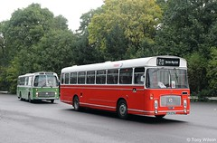 A fine pair of Bristols (Copy) (focus- transport) Tags: nbc national bus company bristol vr re ecw eastern coachworks mcw metrobus leyland leopard marshall volvo ailsa olympian united trent ribble pmt northern midland red maidstone district eyms md crosville atlantean