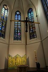 Vor Frue Kirke, Aarhus, Denmark (Insights Unspoken) Tags: vorfruekirke katolsk romerkatolsk romancatholic church churchofourlady aarhus ryesgade crucifix christianity