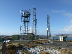 Wideford Hill Orkney (marcialove) Tags: radio landscape orkney hill aerial mast antenna communications wideford
