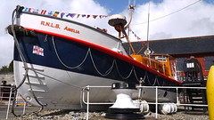 RNLB Amelia (Worthing Wanderer) Tags: sunshine coast seaside spring cornwall path beaches april charlestown southwestcoastpath