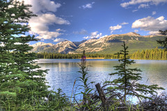 Lake Annette 2 (Fil.ippo (AWAY)) Tags: travel lake canada lago nikon jasper alberta annette hdr filippo waterscape d5000 filippobianchi