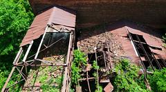Looks Safe Enough... (.:Axle:.) Tags: slr abandoned up nikon ruins decay grain urbanexploration rails silos feed ue henhouse urbex d300 nikond300 afsnikkor1424mm128g