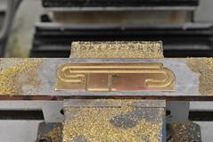 Ladder sides and headlight base (edhume3) Tags: brass metalworking watertender fabrication gauge1 livesteammodel kozonewshay d301131