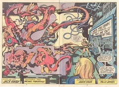 Captain Victory #08 by Jack Kirby (Derek Langille) Tags: art comics jack spread dc kirby comic double victory captain page marvel jackkirby