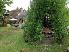 Our Garden in Slindon (Mark and Rebecca Ford Art Sculpture) Tags: