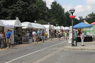 Ann Arbor Art Fair - Day one (July 17, 2013) i...