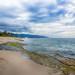 _DSC083420130706_HDR.jpg (nosha) Tags: ocean blue sea sky usa seascape green beautiful beauty rock island hawaii oahu shore northshore tropical aloha