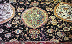 Ardabil Carpet, detail of pendant