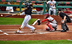 Andrew McCutchen - Pittsburgh Pirates (JayCass84) Tags: camera sports field sport ball photography photo flickr pittsburgh baseball action pennsylvania pirates awesome bat batting flick pncpark pgh actionshot pnc 412 burgh actionphotography buccos steelcity bucn instagram instagramapp