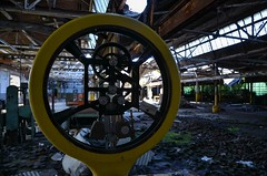 Monocle (gregador) Tags: urban ny abandoned industry scale al factory tech steel exploring decayed dunkirk specialty urbex